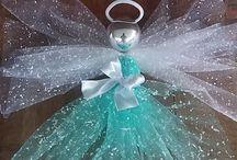 angels deco mesh