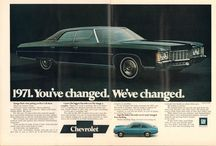 American cars from 70-ties