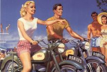 Motorcycle Ads & Artwork