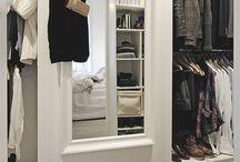Walk in wardrobes / Walk in wardrobes