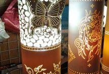 Luminárias pvc