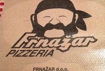 Pizzeria Frnazar / Quando ci troviamo dalle parti di Gorizia e abbiamo voglia di pizza, come ieri, andiamo sempre sul sicuro andando alla Pizzeria Frnazar a Miren. Una pizza buonissima. Miren 222b Merna +386 5 305 41 82