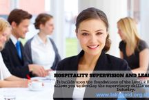 SUPERVISORY LVL 3 COURSE / The HOSPITALITY SUPERVISION AND LEADERSHIP NVQ Level 3 course is an Advanced Hospitality Diploma. It builds upon the foundations of the level 2 Hospitality Diploma and allows you to develop the supervisory skills needed for the Hospitality Industry