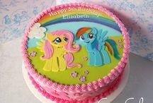 pony cakes