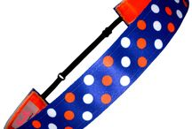 Polka Dot Collection / Classic Polka Dots in all your favorite team colors.  Soccer girls love these!!!