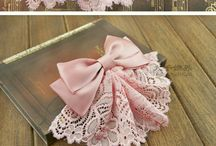Pretty bow clips
