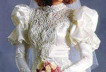 vintage wedding dress-crossdresser