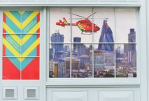 Window Display | London's Air Ambulance HQ / Like what you see? Find out more at http://bit.ly/2sINgjx