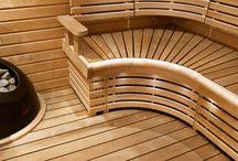 Sauna / Ideoita saunaan ja kylpyhuoneeseen.