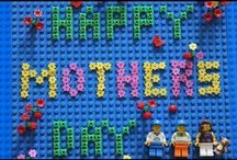 Holiday / Holiday messages with Lego