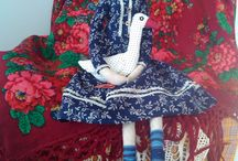 Textile dolls / Russian traditional dolls