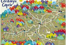 Mapas Ilustrados · Illustrated maps