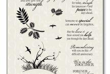Sympathy cards & verses