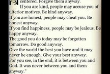 Quotes I love / by Megan Duchemin
