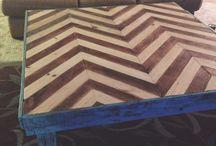 Wood Furniture  / by Johnnie Jones Jr.