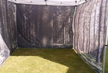 Printed Gazebos / Gazebos, bespoke printed with your design in the UK. Optional full and half walls available.