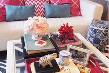 coffee table styling / by Lisa Bowser