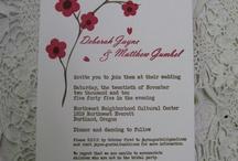 Invitations, cards / zaproszenia, kartki