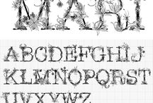 Art 240-- Typefaces / by Andrew Sutherlund