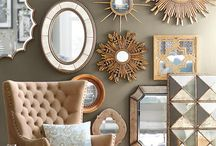 Mirrors / Mirror shapes, frames, interior ideas