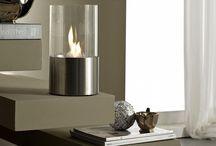 Bio-Ethanol Fireplaces / Bio ethanol, portable fireplace.