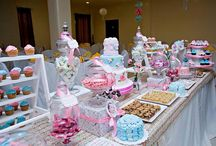 Candy Buffet & Dessert Table Party Ideas / Candy Buffet & Dessert Bar Ideas for your next party or special occasion! #candy #buffet #candybuffet #dessertbar / by Seshalyn's Party Ideas