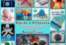 Animali del Mare  - Marine Animals Crochet