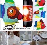plastic bottle art