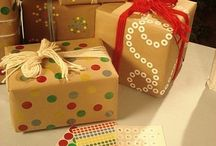 gift wrapping / by Felicia Jackson