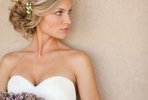 Wedding Hair Ideas / Wedding Hairstyle ideas for the best hair do for the wedding day.