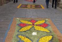 Religion and Flowers in San Donato in Poggio