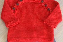 pull rouge bebe
