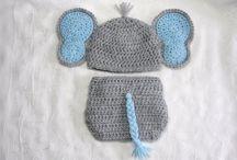 Diaper sets / Crochet