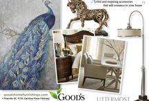 Creating Holiday Wow / Visit Good's Home Furnishings in Pineville NC. for Inspiring and artful Uttermost accessories. Let our designers help you prepare your home for the holidays. Add accents to famous names in home furnishings like Fine Furniture Design, Century Furniture, Bernhardt Furniture, Ekornes, Bradington Young Leather Sofas, Hooker Furniture, Henredon living rooms and bedrooms, Universal dining rooms and much more. Charlotte NC. Luxury home furnishings from all the famous name brands. / by Good's Home Furnishings