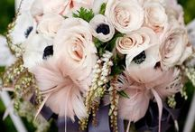 Bridal Bouquets / Bridal bouquet inspiration for weddings. Tips on what to look for when buying your bridal bouquet and bridesmaids bouquets. Flowers for every season.