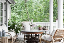 porch / backyard
