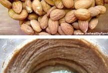 Nut flours -Milks - Butters