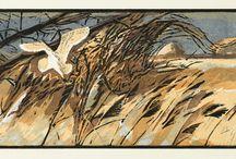 Robert Greenhalf / woodcuts