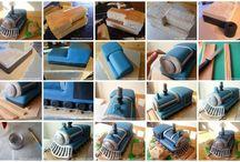 Mozdony torta
