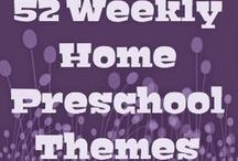 52 preschool themes