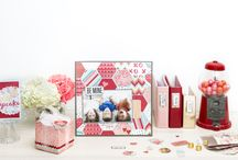Crush Collection / Projects made with and inspired by the Crush Valentine's collection from We R Memory Keepers
