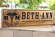 Medical - EMT- Nurse signs