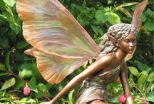 Fairy Gardens / Miniature fairy gardens are fun, creative, and bring a bit of fantasy to any garden or home. Great solution when you're tight on space.
