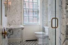 Bathroom, lavatory, loo,  water closet, privy... / by Diane Gallardo-Cannella
