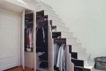 Stairs wardrobe