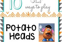 Speech-at-Home Toys and Games / Toys and games that can be used to enhance speech and language development.