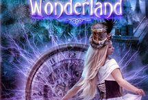 Books of Alice in Wonderland / Una raccolta di tutti i Libri che trattano la storia di Alice nel paese delle Meraviglie