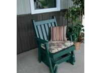 Outdoor Gliders / Pine Ridge Online is the leading provider of Amish hand-crafted Outdoor Gliders for your Porch & Patio. We offer Cedar, Pine and Poly in a variety of colors and styles.