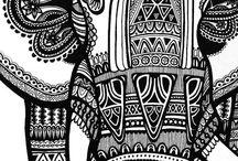 diseños hindu