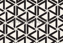 Pattern inspired / Love patterns and the texture they give to visual branding